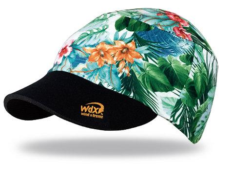 כובע ריצה מקצועי COOL CAP  מתקפל עם הגנת UV מנדף זיעה - ג'ונגל