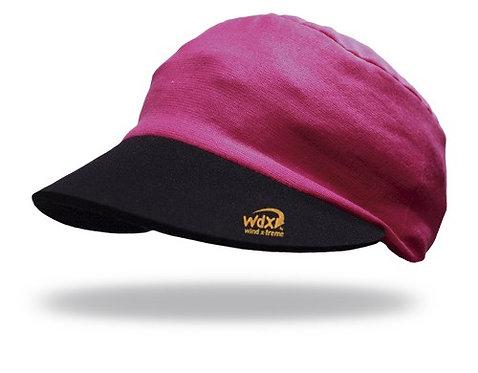 כובע מצחייה מקרר מתקפל גמיש - ורוד