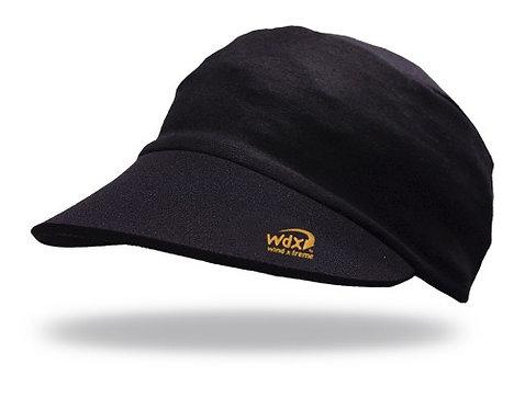 כובע ריצה מקצועי COOL CAP  מתקפל עם הגנת UV  מנדף זיעה - שחור