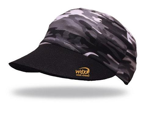 כובע ריצה וטיולים מתקפל UV גמיש ומקרר -camouflage black