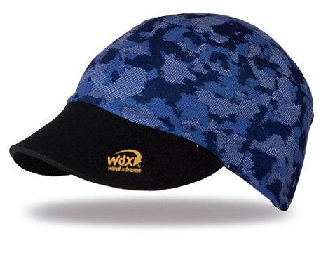 כובע ריצה וטיולים מתקפל UV גמיש ומקרר - כחול
