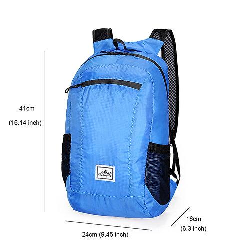 תיק גב מתקפל 18 ליטר - כחול