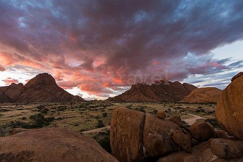 Spitzkoppe Sunset II