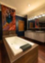 acrylic print, bathroom