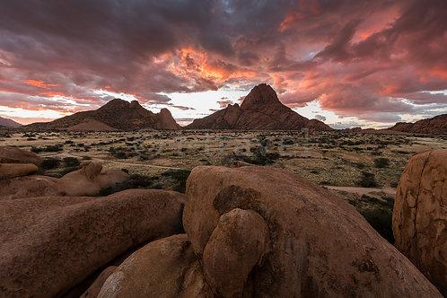Spitzkoppe Sunset III