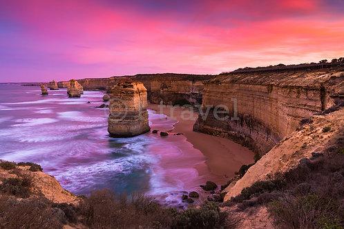 12 Apostles - Pink Sunrise I