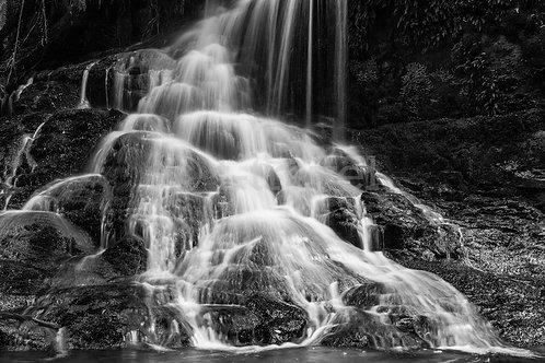 Horseshoe Falls - B&W