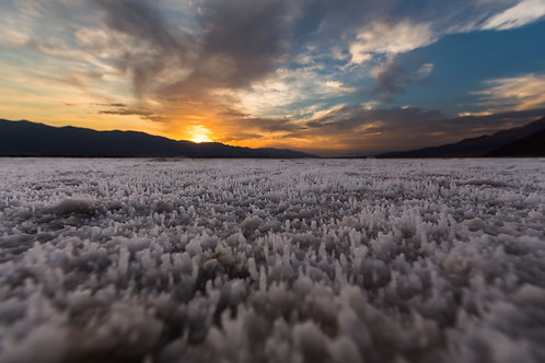 Sunset over Salt Fields IV (Death Valley)