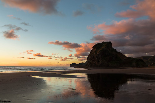Sunset at Piha
