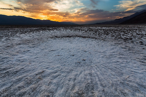 Sunset over Salt Fields VI (Death Valley)