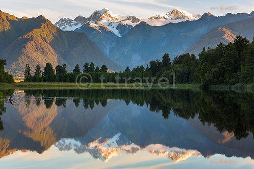 Lake Matheson - Sunset I