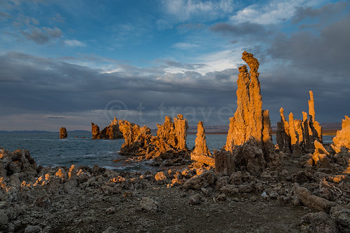 Sunset over Tufas V (Mono Lake)