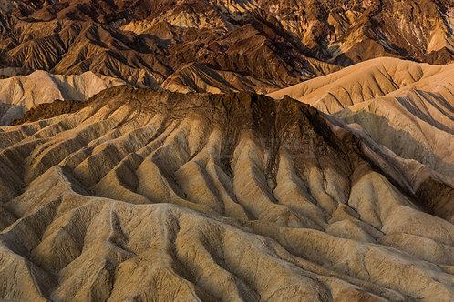 Zabriskie Point - Sunrise VI (Death Valley)
