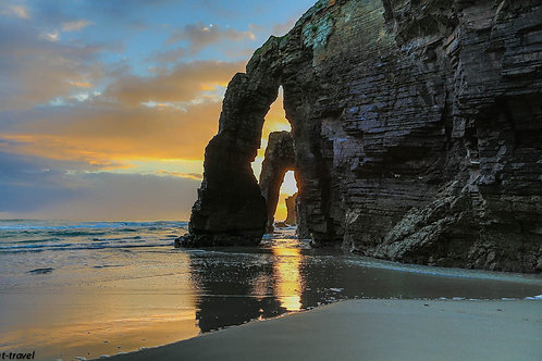 Beach of Cathedrals - Spain