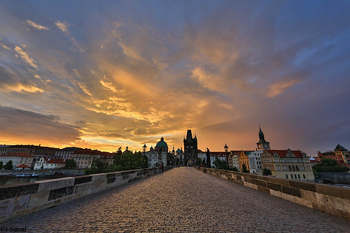 New day on the Charles Bridge