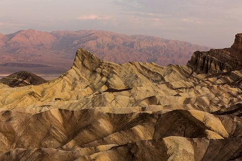 Zabriskie Point - First Rays II (Death Valley)