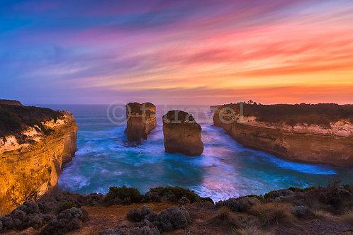 Island Archway - Sunset I