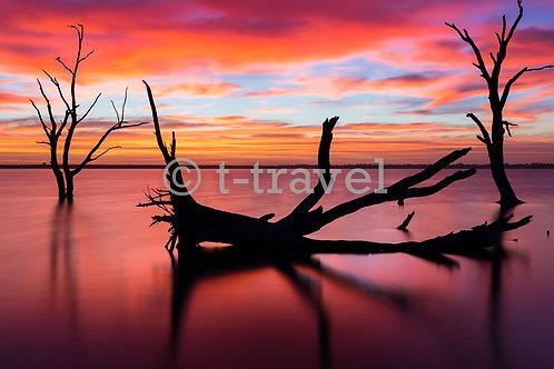 Lake Bonney - Sunrise X