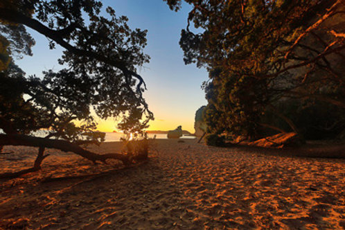 Sunrise at Coromandel Peninsula