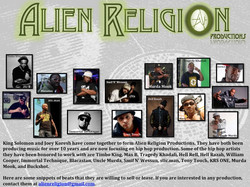 Alien Religion Collage