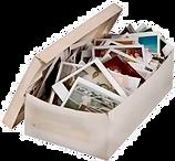 caixa de fotos para digitalizar
