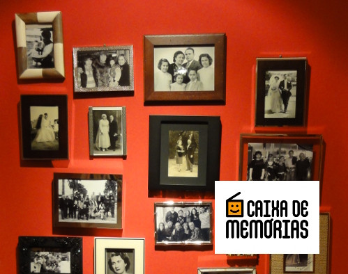Pendurar memorias de familia na parede
