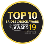 Top 10 Sunshine Coast Celebrant in the Brides Choice Awards