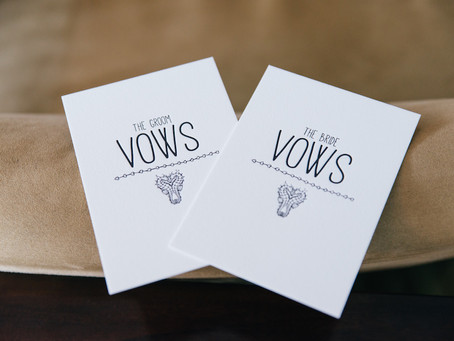 Tips for acing your Wedding Vows