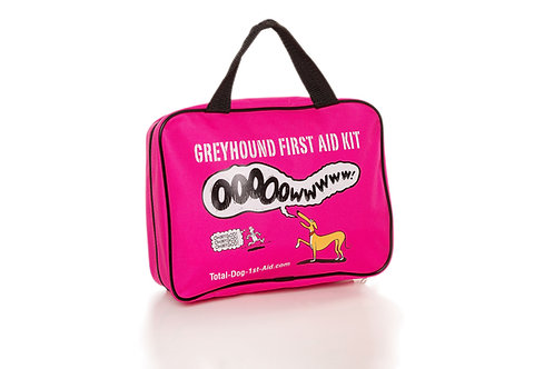 Limited Edition R. Skipworth Total-Dog-1st-Aid Kit - Pink
