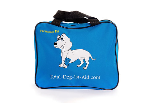 Premium Blue Total-Dog-1st-Aid Kit