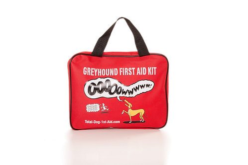 Limited Edition R. Skipworth Total-Dog-1st-Aid Kit - Red