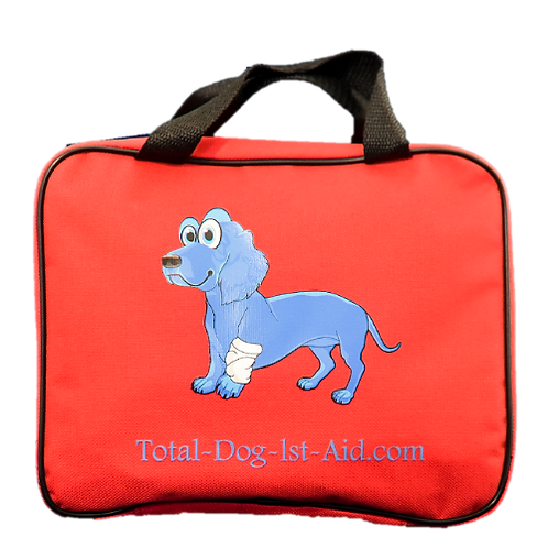 Total-Dog-1st-Aid Kit - Red