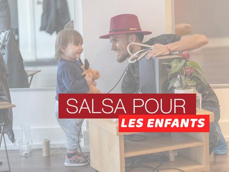 SALSA POUR LES ENFANTS avec @LaClaveSalsaColombienne