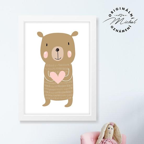 Milující medvídek – plakát