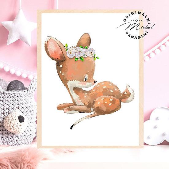 Plakát srnečka maličká Františka