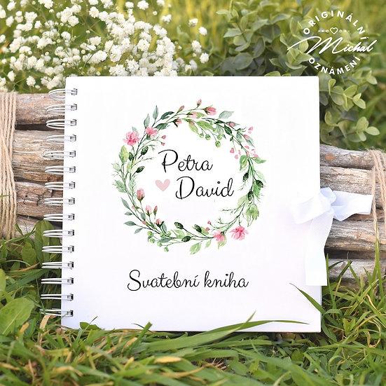 Svatební kniha hostů v pevných knižních deskách - 52