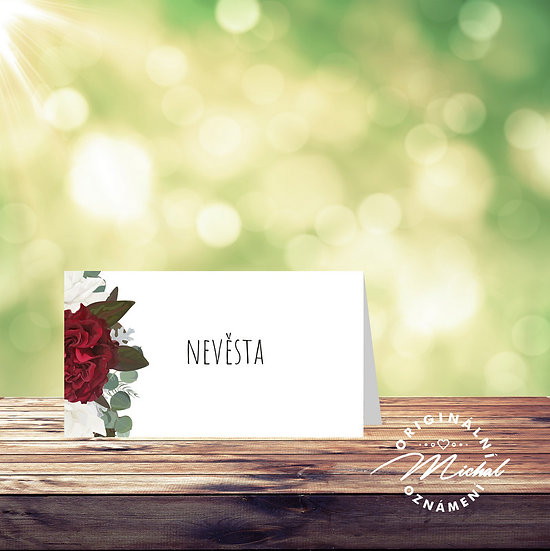 Svatební jmenovka