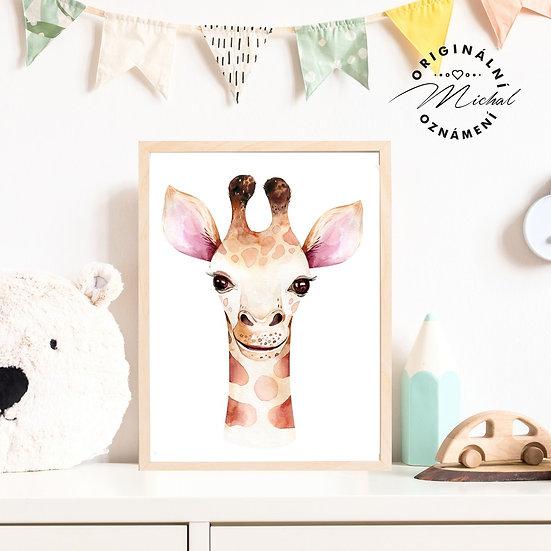 52 - Žirafka Žofka