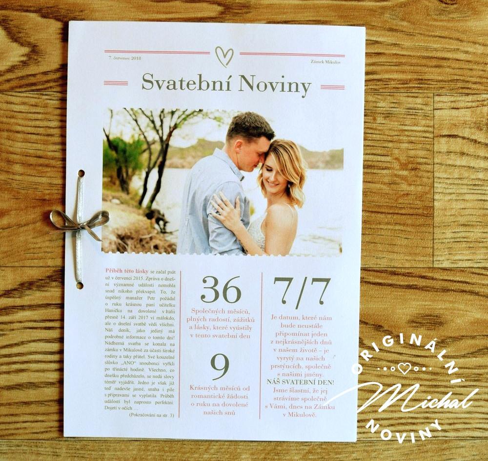 Svatební noviny Michal