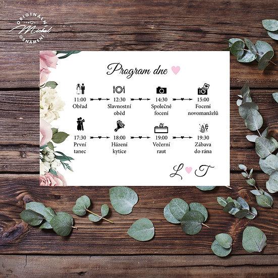 Svatební program - P06