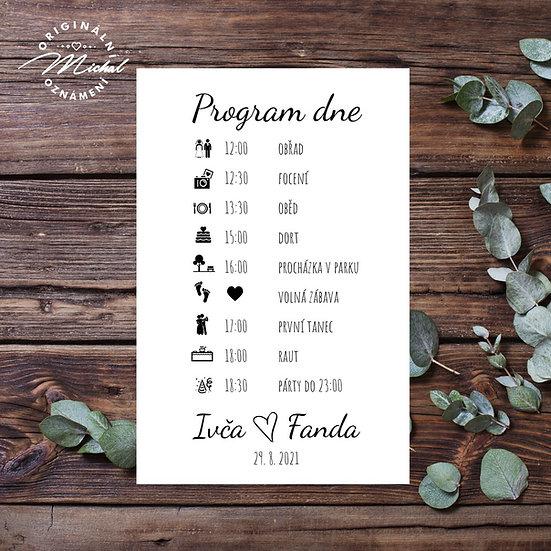 Svatební program - P09