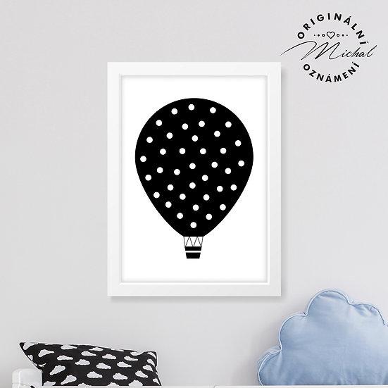 Puntíkatý balónek – plakát