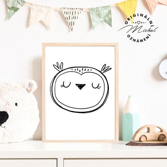 21 - Moudrá sova