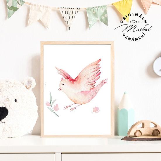 45 - Jarní ptáček