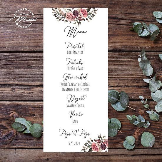 Svatební menu - TYP M11