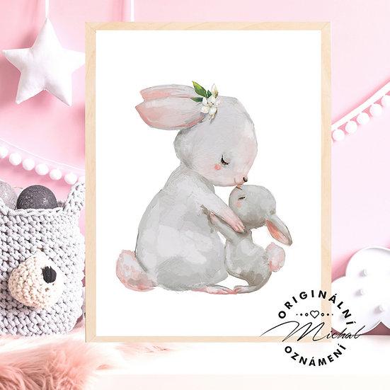 Plakát Zajíčkové láska
