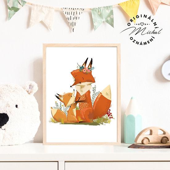 Plakát lišky
