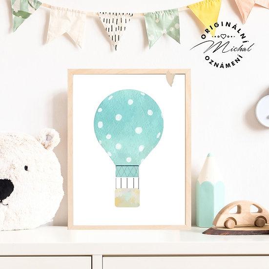 3- Létající balon