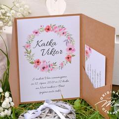 Svatební oznámení v kapse