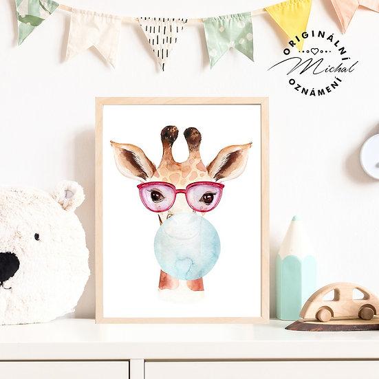 51 - Žirafa bublina
